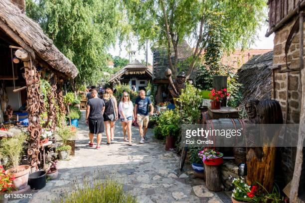 restaurante Tihany turístico de compras Hungría
