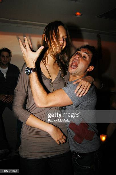 Tiiu Kiuk and Sean Varley attend DJ Cassidy and Fonzworth Bentley Host BUNNY CHOW Sunday at CAIN Southampton Club on May 28 2006 in Southampton NY