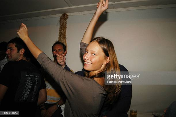 Tiiu Kiuk attends DJ Cassidy and Fonzworth Bentley Host BUNNY CHOW Sunday at CAIN Southampton Club on May 28 2006 in Southampton NY