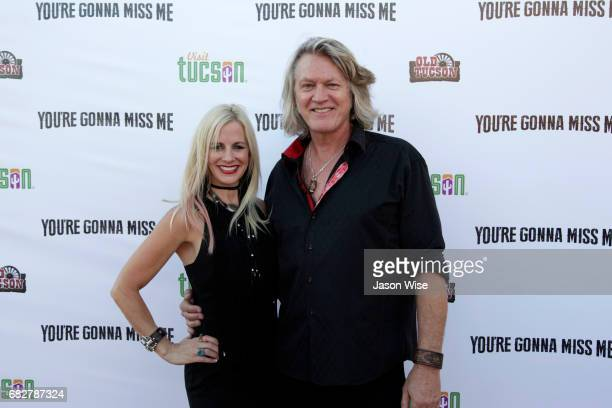 Tiiu Loigu and William Shockley attend 'You're Gonna Miss Me' premiere sponsored by Visit Tucson on May 13 2017 in Tucson Arizona