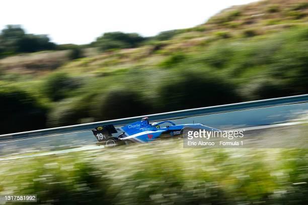 Tijmen van der Helm of Netherlands and MP Motorsport drives at Circuito de Jerez on May 12, 2021 in Jerez de la Frontera, Spain.