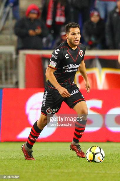 Tijuana defender Hiram Munoz during the second half of the CONCACAF Champions League Quarterfinal match between the New York Red Bulls and Club...