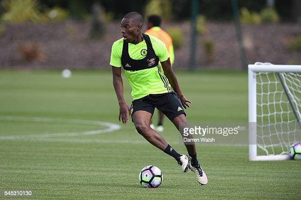 Tika Musonda at Chelsea Training Ground on July 6 2016 in Cobham England