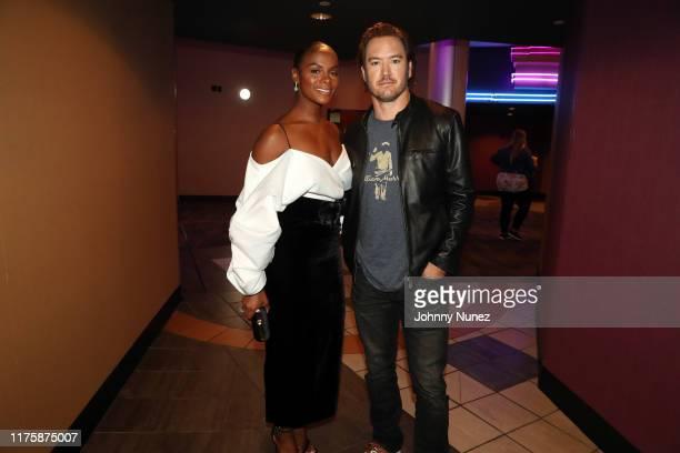 "Tika Sumpter and Mark-Paul Gosselaar attend the ""Mixed-ish"" New York Screening at Regal Battery Park Cinemas on September 19, 2019 in New York City."