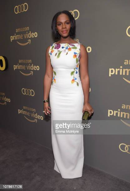 Tika Sumpter attends the Amazon Prime Video's Golden Globe Awards After Party at The Beverly Hilton Hotel on January 6 2019 in Beverly Hills...