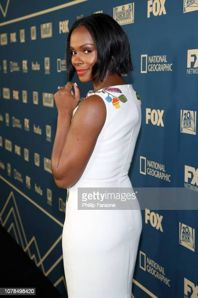 Tika Sumpter attends the FOX FX And Hulu 2019 Golden Globe Awards After Party at The Beverly Hilton Hotel on January 6 2019 in Beverly Hills...
