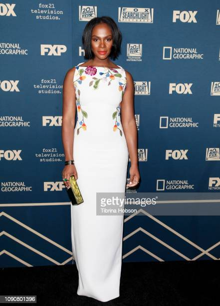 Tika Sumpter attends the FOX FX and Hulu 2019 Golden Globe Awards after party at The Beverly Hilton Hotel on January 06 2019 in Beverly Hills...