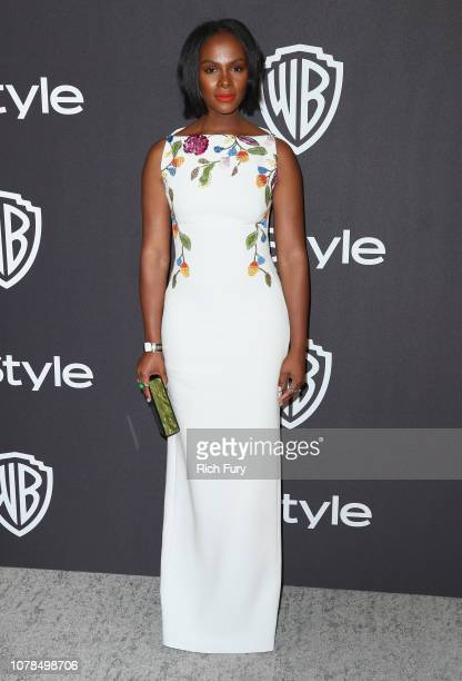 Tika Sumpter attends the InStyle And Warner Bros Golden Globes After Party 2019 at The Beverly Hilton Hotel on January 6 2019 in Beverly Hills...
