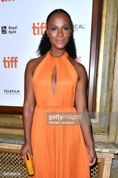 Tika Sumpter attends the 'The Old Man The Gun' premiere during 2018 Toronto International Film Festival at The Elgin on September 10 2018 in Toronto...