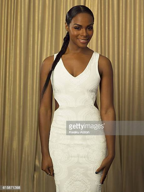 Tika Sumpter is photographed at the Black Men in Hollywood Dinner for Essence Magazine on February 2 2006 in Hollywood California