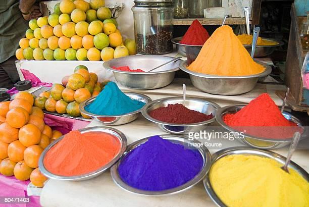 Tikka powder stall