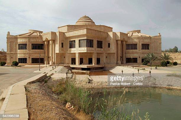 Tikrit's presidential complex is composed of three reception palaces and several residential and leisure palaces, on a marina next to the Tigris...