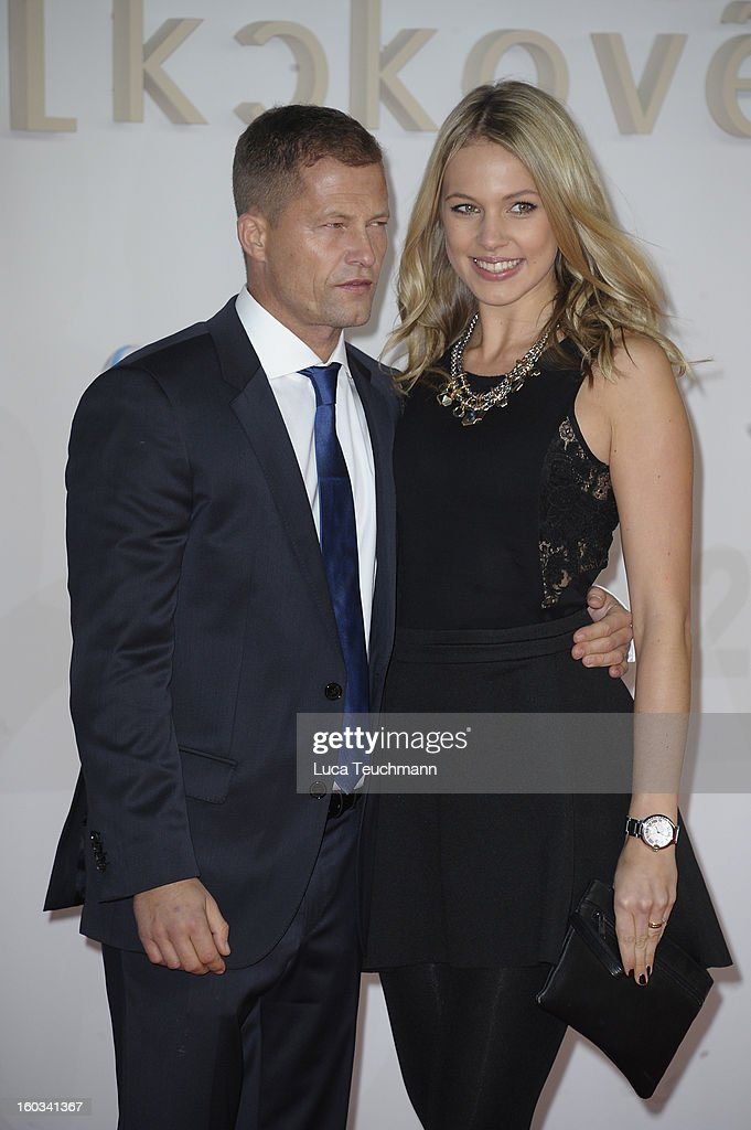Til Schweiger and Svenja Holtmann attends 'Kokowaeaeh 2' Germany Premiere at Cinestar Potsdamer Platz on January 29, 2013 in Berlin, Germany.