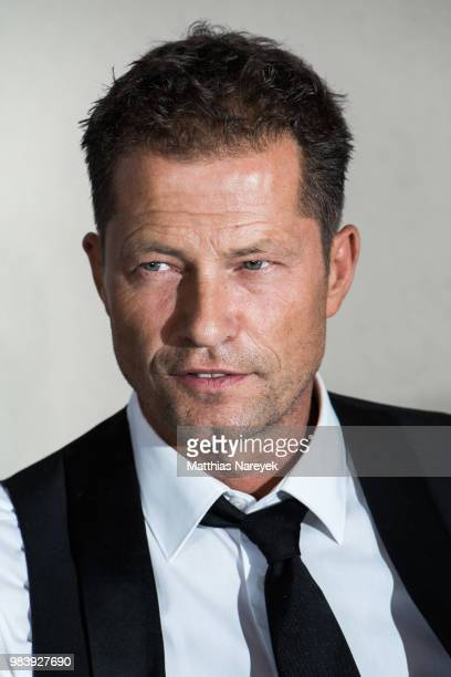 Til Schweiger attends the press conference / photo call of 'Head full of Honey' at on June 25 2018 in Berlin Germany