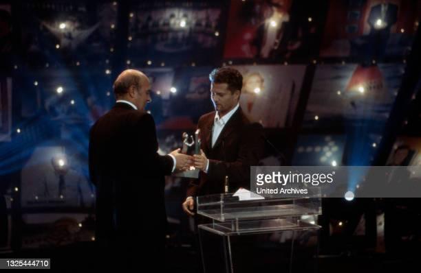 Til Schweiger bei der Verleihung des Telestar 1998 in Köln, Deutschland 1998 im Maritim Hotel(.