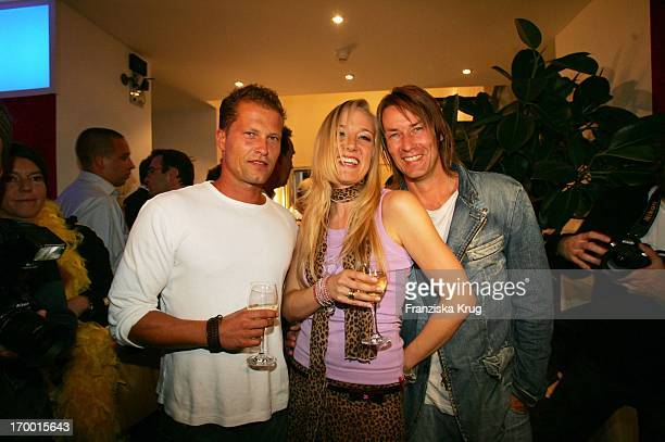 Til Schweiger Janine Kunze and husband Dirk Budach At The Party to Germany premiere of Deuce Bigalow European Gigolo In the TCom Showhouse In...