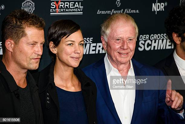 Til Schweiger Marlene Shirley Wolfgang Petersen attend the 'Tatort Der Grosse Schmerz' premiere in Berlin at Kino Babylon on December 16 2015 in...