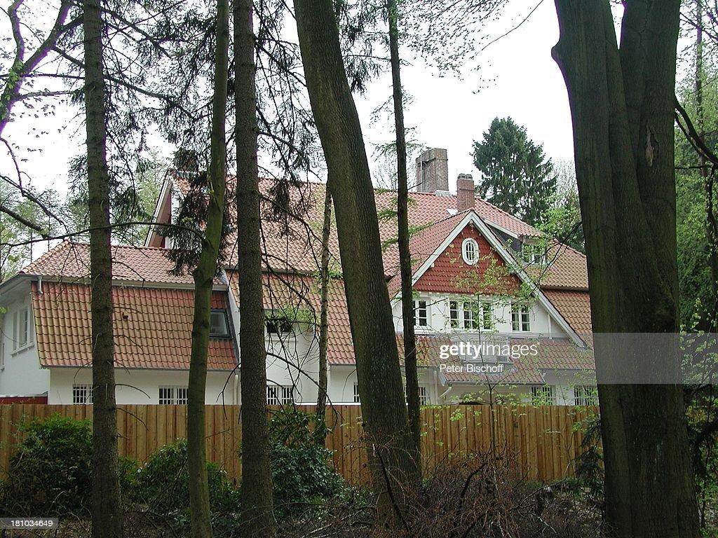 Til Schweiger Villa In Niendorf Bei Hamburg Homestory Haus Wald