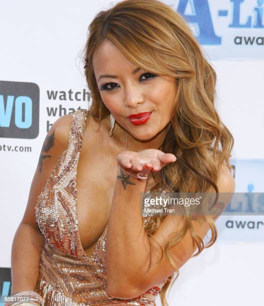 Tila Nguyen arrives to Bravo's 2nd Annual 'AList' Awards held at The Orpheum Theatre on April 5 2009 in Los Angeles California