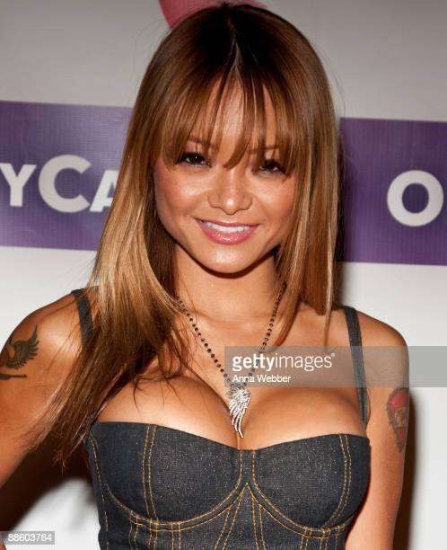 Tila Tequila arrives at the Official OnlineBootyCall Million Dollar Sweepstakes Party at Opera Crimson on June 20 2009 in Los Angeles California