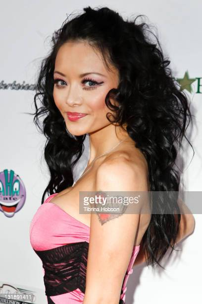Tila Tequila arrives to the DrinkingAndDrivingorg's 1st Annual Celebrity Charity Tabloid Roast at The Ha Ha Comedy Club on May 31 2011 in North...