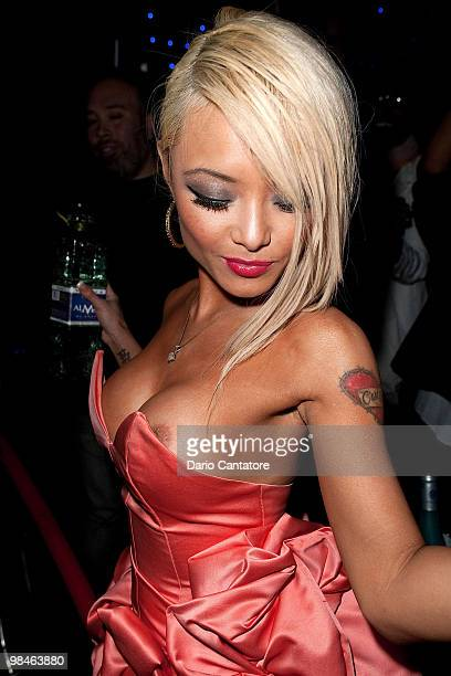 Tila Tequila attends Miss Tila's Celebrity Blog launch party at Greenhouse on April 14 2010 in New York City