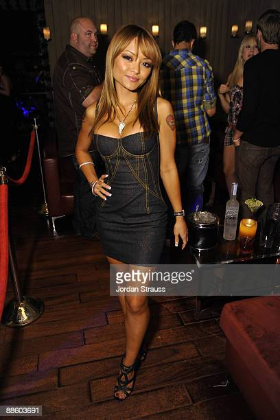 Tila Tequila attends the Official OnlineBootyCall Million Dollar Sweepstakes Party at Opera Crimson on June 20 2009 in Los Angeles California