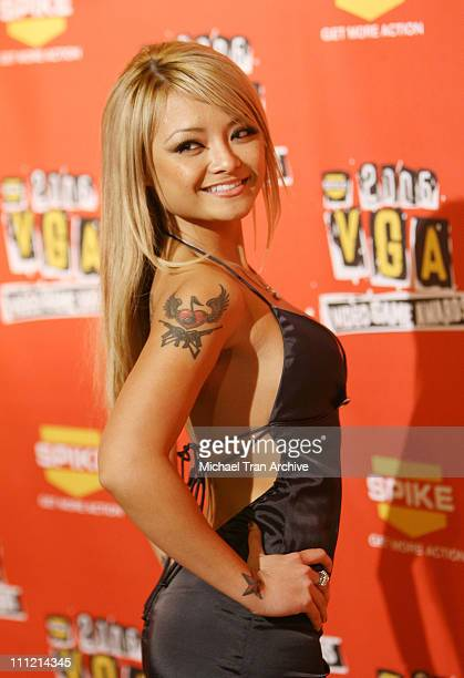 Tila Tequila during Spike TV's 2006 Video Game Awards Arrivals at The Galen Center in Los Angeles California United States