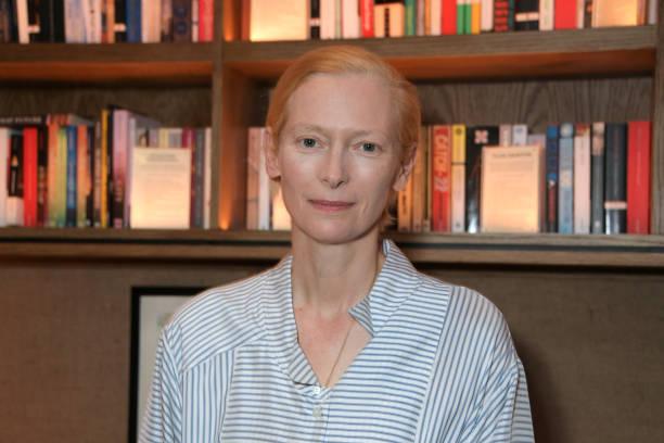 GBR: Tilda Swinton In Conversation At Teatulia