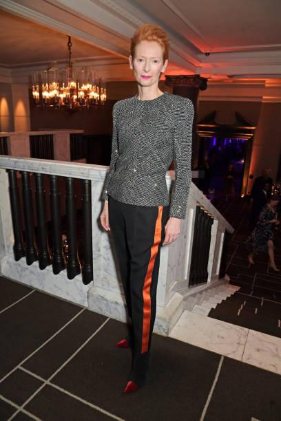 GBR: Tilda Swinton Receives A BFI Fellowship At The BFI Chairman's Dinner
