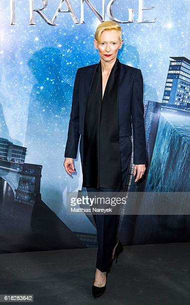 Tilda Swinton attends the 'Doctor Strange' photocall at Soho House on October 26 2016 in Berlin Germany