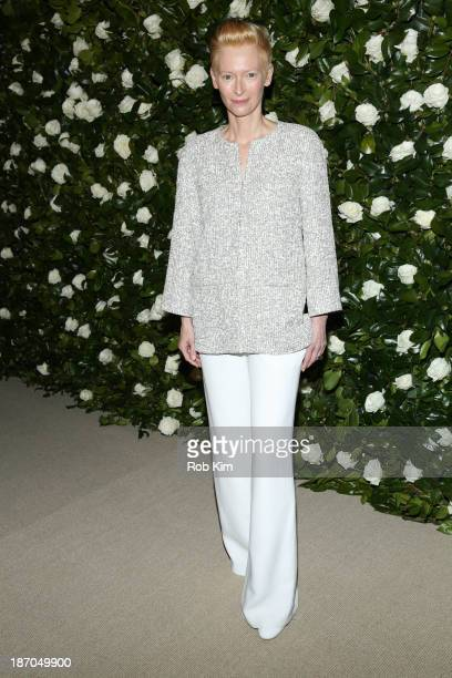 Tilda Swinton attends the Museum of Modern Art 2013 Film benefit: A Tribute To Tilda Swinton on November 5, 2013 in New York City.