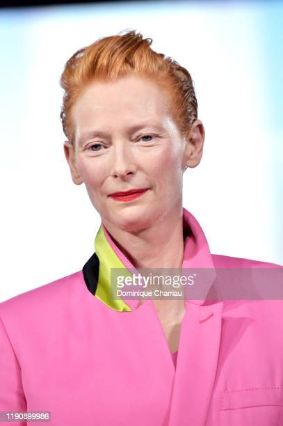 Tilda Swinton attends the opening ceremony during the 18th Marrakech International Film Festival on November 29, 2019 in Marrakech, Morocco.