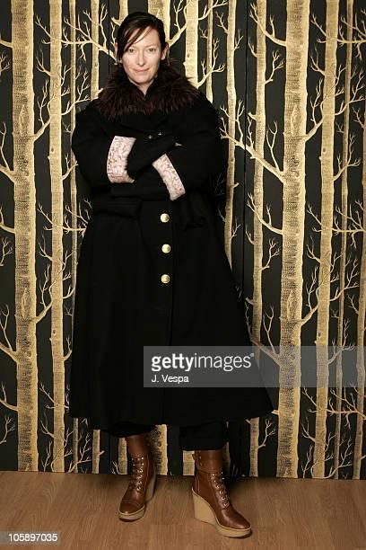 Tilda Swinton during 2006 Sundance Film Festival 'Stephanie Daly' Portraits at HP Portrait Studio in Park City Utah United States