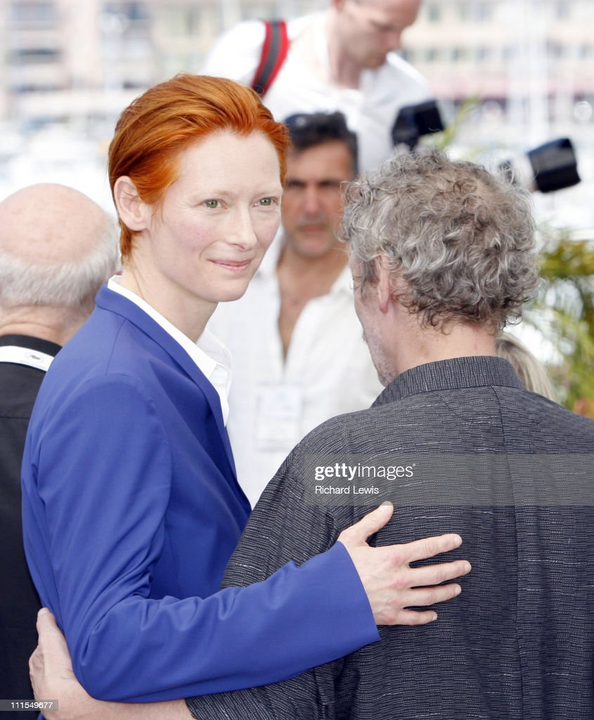 Tilda Swinton during 2007 Cannes Film Festival - 'The Man From London' Photocall at Palais des Festival in Cannes, France.
