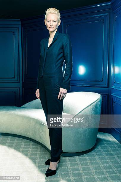 Tilda Swinton is photographer for The Hollywood Reporter on May 20 2013 in Cannes France