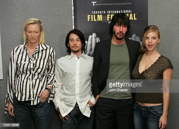 Tilda Swinton Lou Pucci Keanu Reeves and Kelli Garner