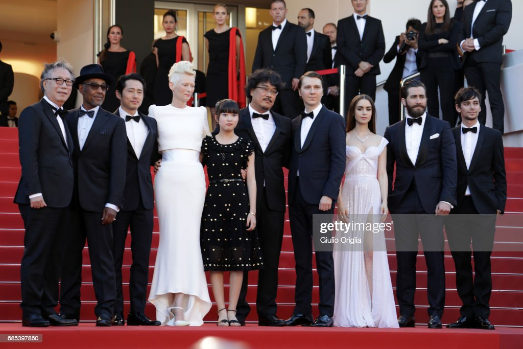 'Okja' Red Carpet Arrivals - The 70th Annual Cannes Film Festival : News Photo