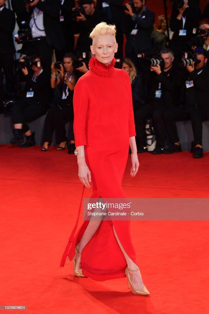 Suspiria Red Carpet Arrivals - 75th Venice Film Festival : News Photo