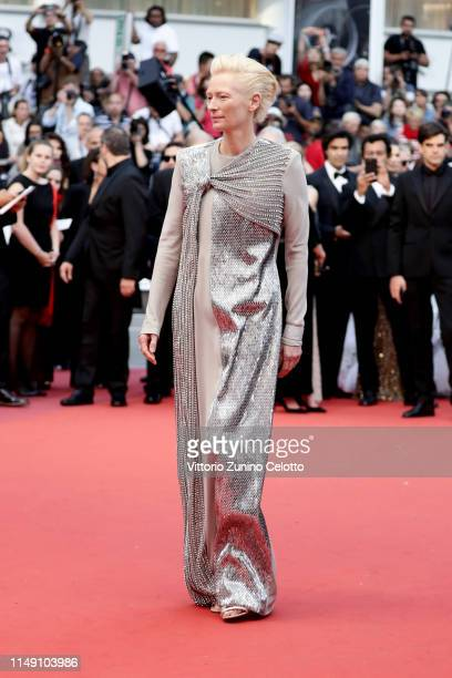 Tilda Swintonattends the opening ceremony and screening of The Dead Don't Die during the 72nd annual Cannes Film Festival on May 14 2019 in Cannes...
