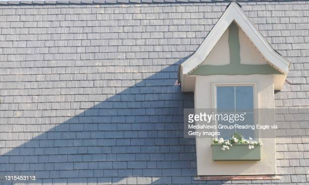 Tilden Township, PAA detail photo of one of the windows on Trisha Urban's new house.During a press conference Friday afternoon for the completion of...