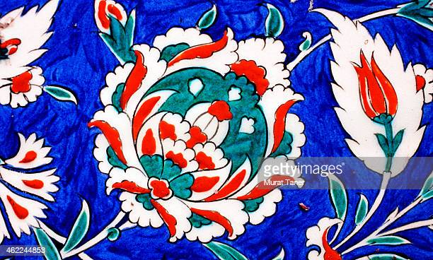 tile in a mosque - selimiye mosque stock pictures, royalty-free photos & images