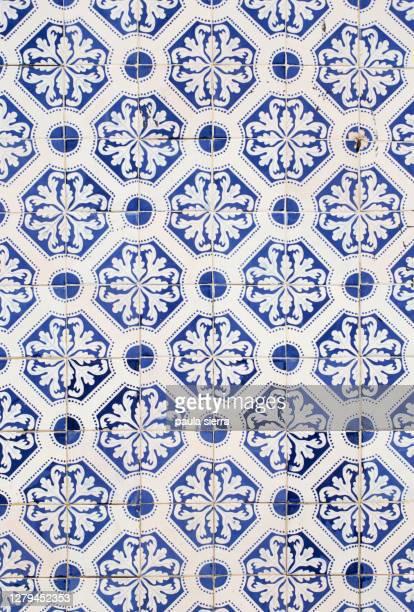 tile pattern - cultura portoghese foto e immagini stock