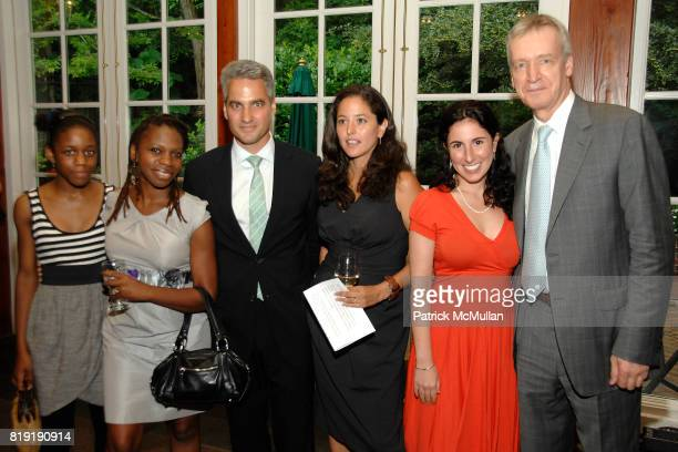 Tilea Slate Cathine Green Morgan Bale Yovanka Bylander Jane Slater and Peter Kostmayer attend Citizens Summer Cocktail Celebrating 35 Years in NYC at...