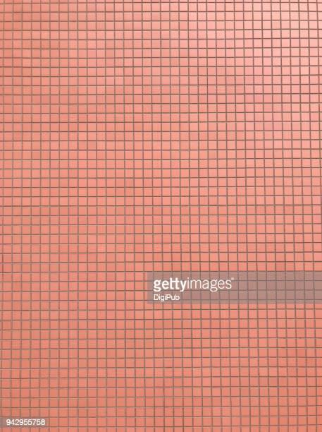 tiled exterior wall - quadriculado - fotografias e filmes do acervo