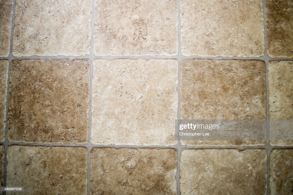 Tiled floor background : Stock Photo