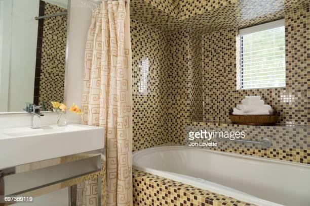 Tiled Modern Bathroom