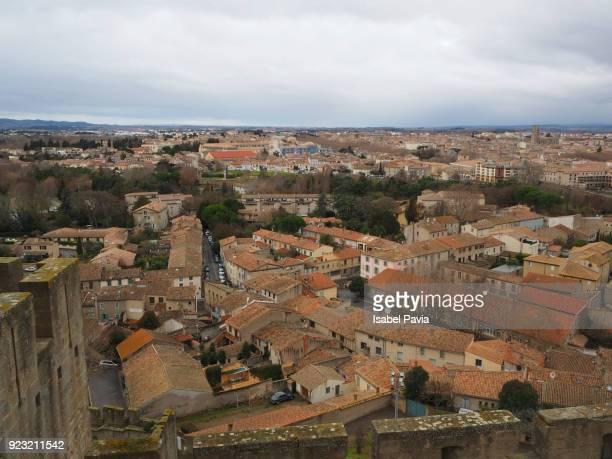 Tiled Rooftops of Carcassonne, France
