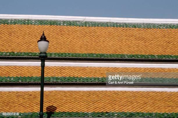 Tiled Wall at Bangkok Grand Palace