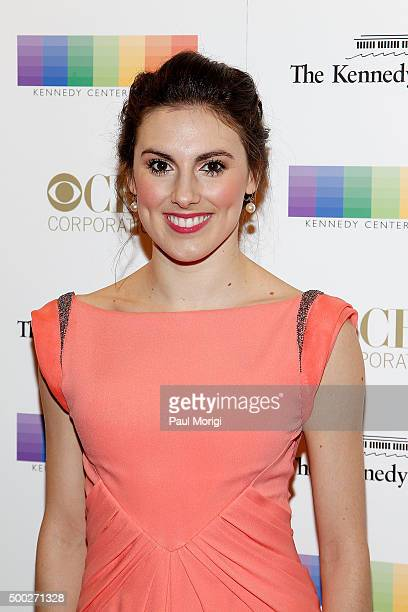 Tiler Peck attends the 38th Annual Kennedy Center Honors Gala at John F Kennedy Center for the Performing Arts on December 6 2015 in Washington DC